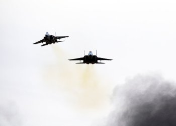 Israeli Air Force F-15 jets/REUTERS