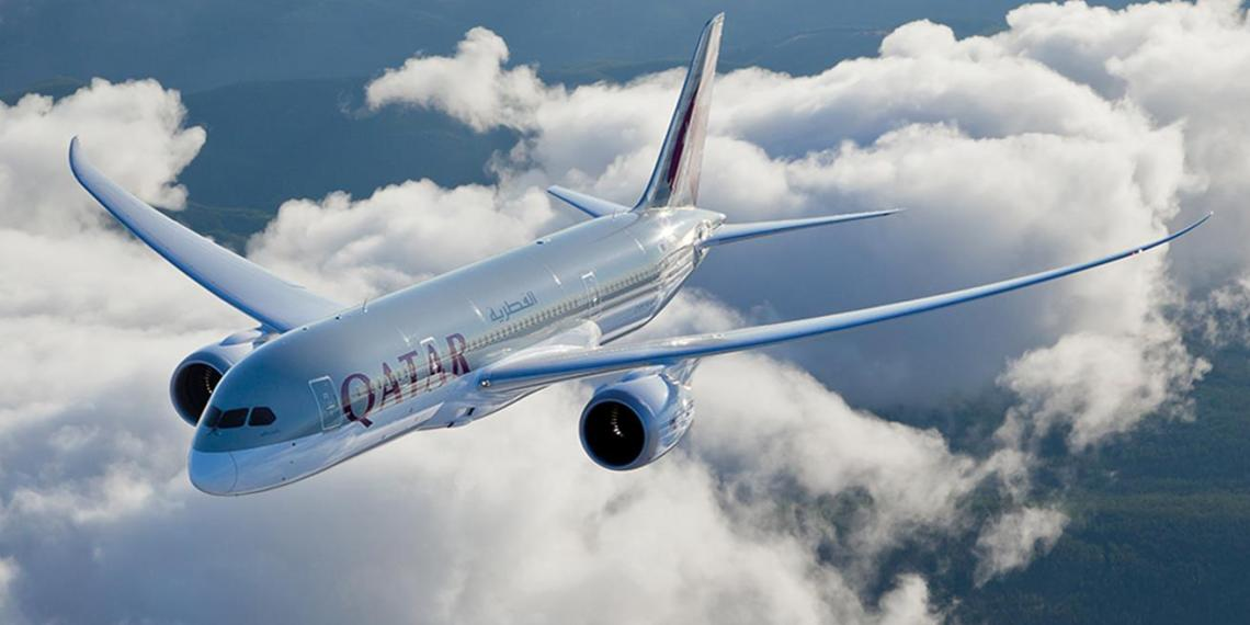 Qatar Airways is taking financial hits since some Arab nations forbade it from using their airspace last June. Photo credit: Qatar AIrways