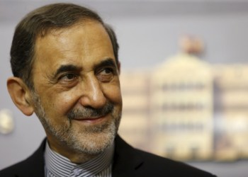 Ali Akbar Velayati, Iran's Supreme Leader Ayatollah Ali Khamenei's top adviser on international affairs, smiles as he listens to questions from the media during a news conference after meeting with Lebanon's Prime Minister Tammam Salam at the government palace in Beirut May 18, 2015. REUTERS/Mohamed Azakir