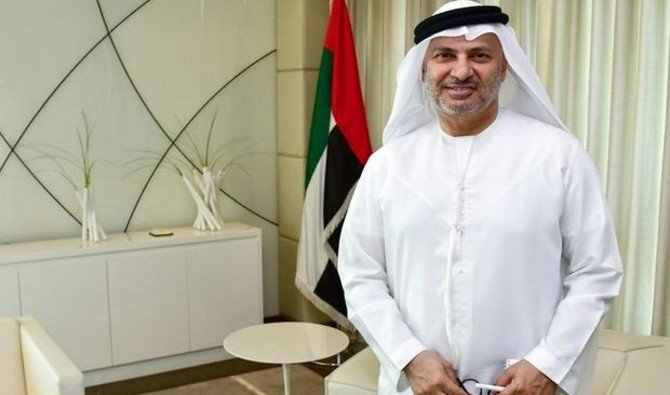 File photo UAE minister of state for foreign affairs Anwar Gargash. (Reuters)