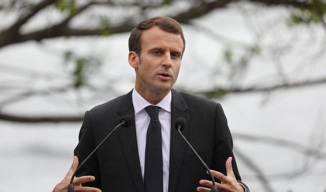 """French leader Emmanuel Macron, who admitted that the existing deal was """"not sufficient,"""" is pushing for international talks on a potential wider accord. (AFP)"""