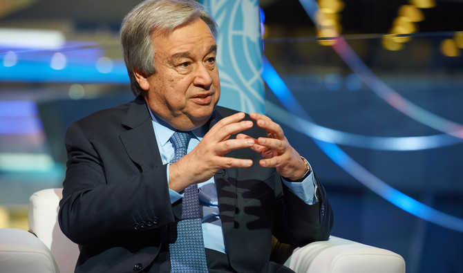 United Nations Secretary-General Antonio Guterres. (Shutterstock)