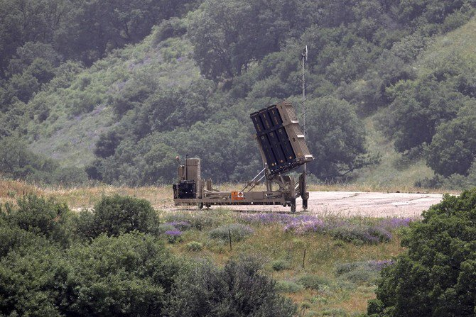 An Israeli Iron Dome defense system, designed to intercept and destroy incoming short-range rockets and artillery shells. (AFP)