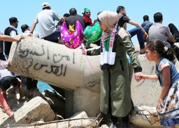 There is widespread trepidation among residents of Gaza that another escalation is inevitable. (Getty Images)