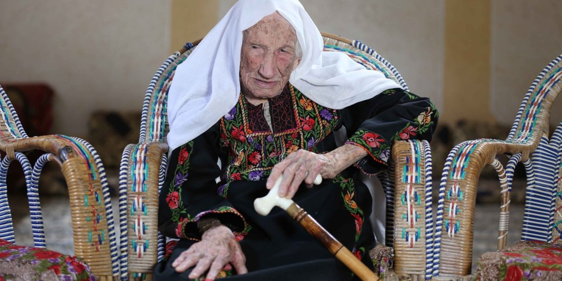 Hakma Atallah, a 105-year old Nakba survivor, shares her story of loss and hope ( social media)