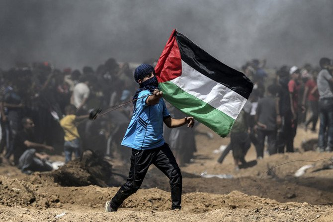 At least 33 Palestinians have been killed in clashes since mass protests broke out along the Gaza border on March 30. (AFP)