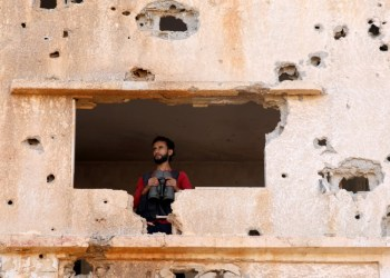 FILE PHOTO: A fighter from the Free Syrian Army is seen in Yadouda area in Deraa, Syria May 29, 2018. REUTERS/Alaa Al-Faqir/File Photo