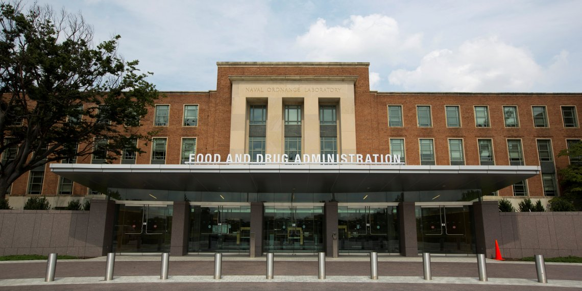 FILE PHOTO: A view shows the U.S. Food and Drug Administration (FDA) headquarters in Silver Spring, Maryland August 14, 2012. REUTERS/Jason ReedREUTERS/File Photo