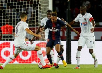 3bc994a151010 Neymar strikes as Tuchel s youthful PSG seal win over Caen