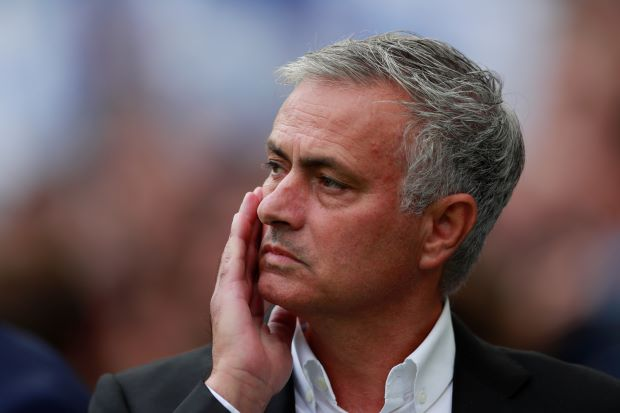 FILE PHOTO: Soccer Football - Premier League - Brighton & Hove Albion v Manchester United - The American Express Community Stadium, Brighton, Britain - August 19, 2018 Manchester United manager Jose Mourinho before the match Action Images via Reuters/Andrew Couldridge