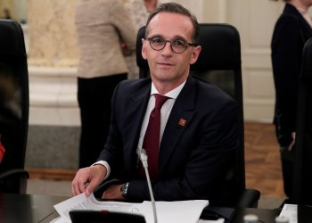 FILE PHOTO: Germany's Foreign Minister Heiko Maas attends a European Union Foreign Ministers informal meeting (Gymnich) in Vienna, Austria, August 30, 2018 REUTERS/Heinz-Peter Bader/File Photo