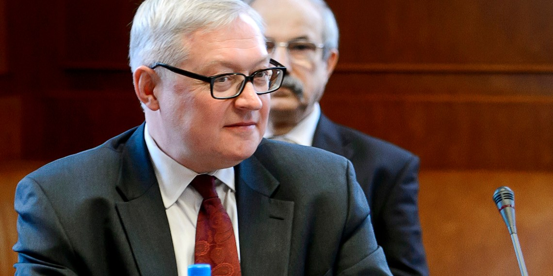 FILE PHOTO: Russian Deputy Foreign Minister Sergei Ryabkov looks on at the start of two days of closed-door nuclear talks at the United Nations offices in Geneva October 15, 2013. REUTERS/Fabrice Coffrini/Pool/File Photo