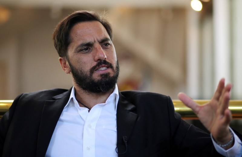 FILE PHOTO: Agustin Pichot, IRB World Rugby vice-president and former Argentina captain, speaks to Reuters in an interview in Buenos Aires, Argentina, May 2, 2017. REUTERS/Marcos Brindicci