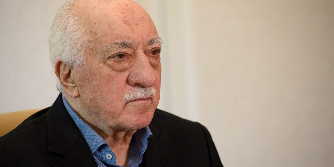 FILE PHOTO: U.S.-based Turkish cleric Fethullah Gulen at his home in Saylorsburg, Pennsylvania, U.S. July 10, 2017. REUTERS/Charles Mostoller