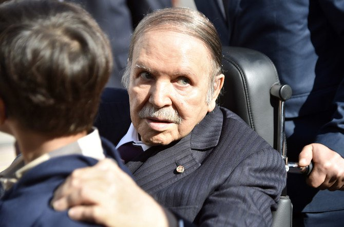 Algeria's frail President Abdelaziz Bouteflika, in power since 1999, will stand for a fifth term at elections next year. (File photo / AFP)