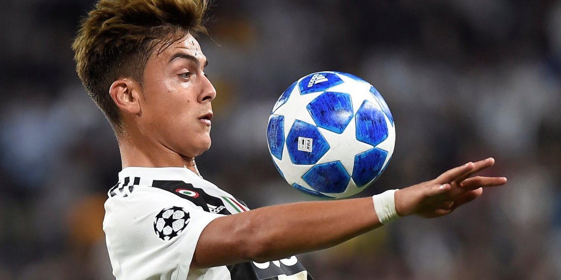 Soccer Football - Champions League - Group Stage - Group H - Juventus v BSC Young Boys - Allianz Stadium, Turin, Italy - October 2, 2018  Juventus' Paulo Dybala in action   REUTERS/Massimo Pinca