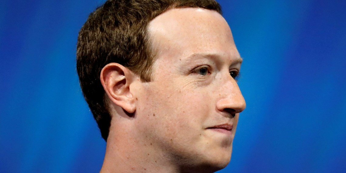 FILE PHOTO: Facebook's founder and CEO Mark Zuckerberg speaks at the Viva Tech start-up and technology summit in Paris, France, May 24, 2018. REUTERS/Charles Platiau/File Photo