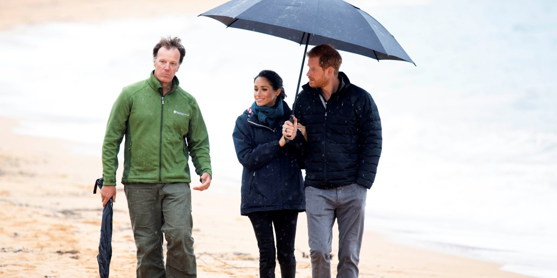 Britain's Prince Harry and Meghan, Duchess of Sussex visit Abel Tasman National Park, which sits at the north-Eastern tip of the South Island, New Zealand to visit some of the conservation initiatives managed by the Department of Conservation, October 29, 2018. Paul Edwards/Pool via REUTERS