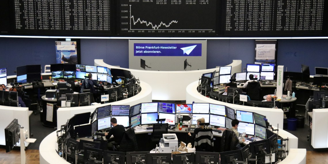 The German share price index DAX graph is pictured at the stock exchange in Frankfurt, Germany, October 26, 2018. REUTERS/Staff