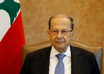Lebanese President Michel said no effort would be spared to solve the problem. (File/Reuters)