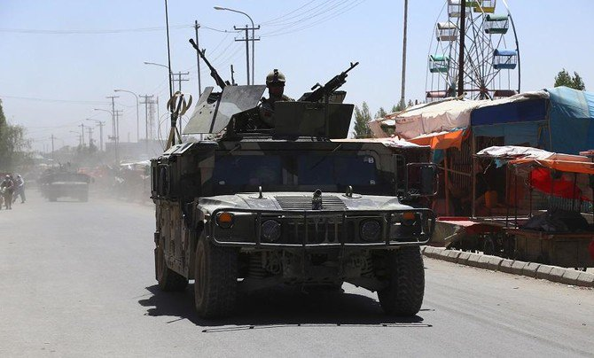 The Taliban carry out near-daily attacks, mainly targeting Afghan security forces at rural outposts. (File/AFP)