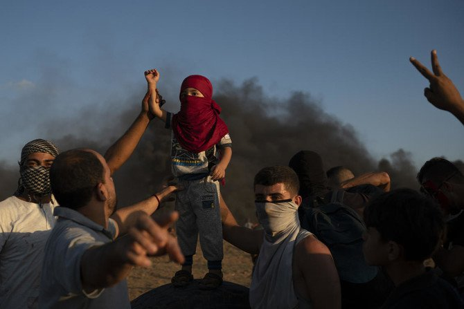 Eight months after demonstrations erupted in Gaza, the casualty toll keeps rising, and there is no end in sight. (AP)