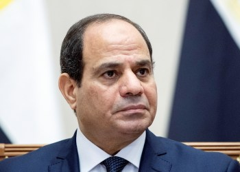 FILE PHOTO: Egyptian President Abdel Fattah al-Sisi attends a signing ceremony following a meeting with Russian President Vladimir Putin in the Black Sea resort of Sochi, Russia October 17, 2018. Pavel Golovkin/Pool via REUTERS