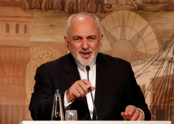 FILE PHOTO: Iranian Foreign Minister Mohammad Javad Zarif speaks during a news conference in Istanbul, Turkey October 30, 2018. REUTERS/Murad Sezer