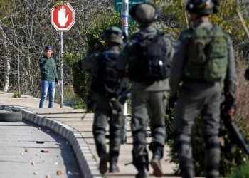 Israeli forces in the occupied West Bank (File/AFP)