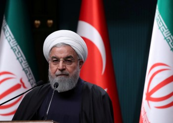 FILE PHOTO: Iranian President Hassan Rouhani speaks during a joint news conference with his Turkish counterpart Tayyip Erdogan (not pictured) after their meeting in Ankara, Turkey, December 20, 2018. REUTERS/Umit Bektas