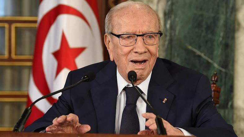 In December 2014, Essebsi won the first free presidential election, becoming Tunisia's first freely and directly elected president. (File photo: AFP)