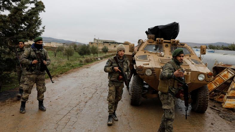 The attack took place near Taybat al-Imam in northern Hama province. (File photo: Reuters)