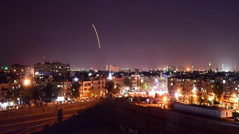 The Israeli military does not usually comment on reports concerning its air attacks in neighbouring Syria [File: SANA/AFP]