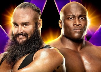 The two superstars will wrestle on Friday, June 7 at the King Abdullah Sports City Stadium. (Supplied)