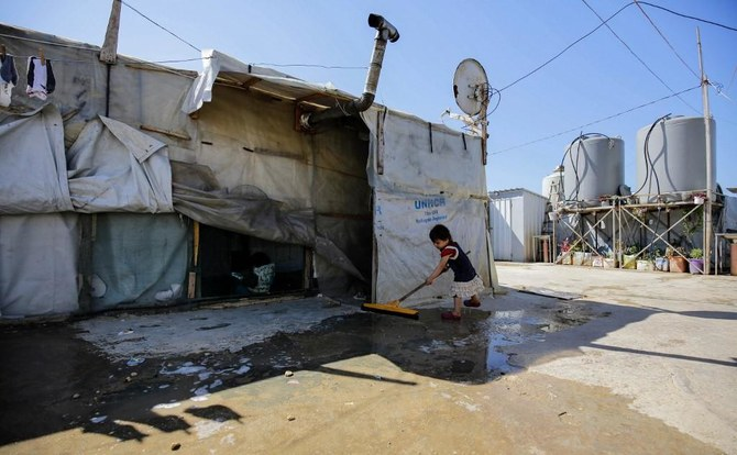 Lebanon hosts almost one million Syrian refugees. (File/AFP)