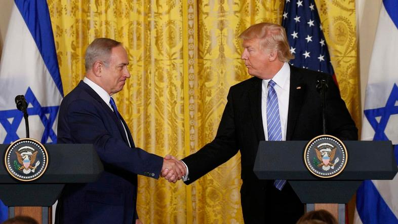 Netanyahu has been a vocal supporter of Trump's Middle East policy, which has broken with years of consensus. (File photo: Reuters)