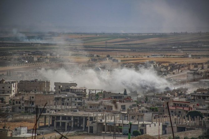 Idlib, which is the last remaining stronghold of the rebels, witnessed heavy unrests recently. (File/AFP)
