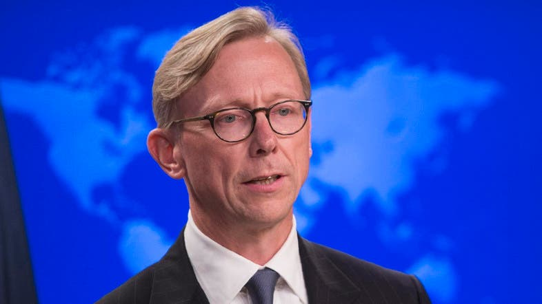 The United States envoy on Iran, Brian Hook. (File photo: AFP)
