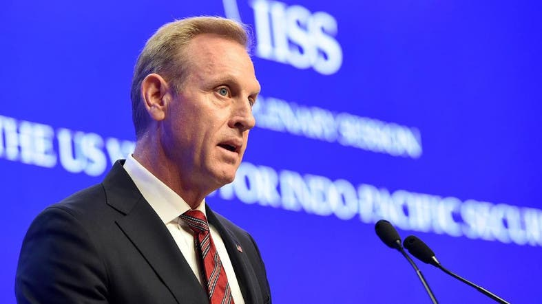 The US military will keep sharing intelligence as part of the effort to build consensus, Shanahan said. (AFP)