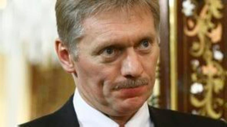 """""""We are urging all the sides to show restraint,"""" President Vladimir Putin's spokesman Dmitry Peskov told reporters. (File photo: AFP)"""
