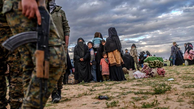 The bulk of the ISIS fighters and family members who were captured when its so-called caliphate collapsed are being held in Syria in Kurdish-run camps. (File photo: AFP)