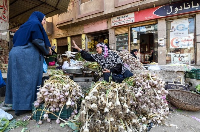 Vegetable prices increased by 17.6% year-on-year in June. (File/AFP)