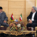 """""""During the visit, he will meet with Iranian Foreign Minister Javad Zarif and other officials in the Iranian Republic,"""" Oman's Ministry of Foreign Affairs said. (Twitter)"""