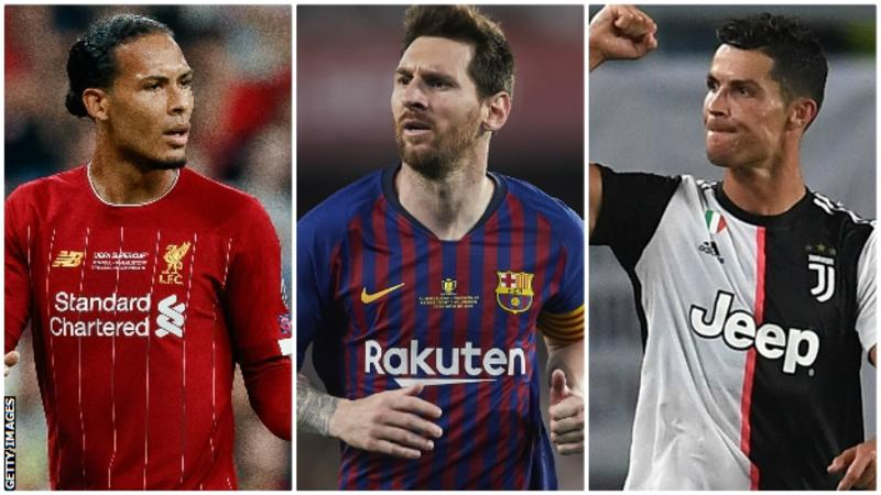 Van Dijk, Messi, Ronaldo: Can the Dutch defender do what Luka Modric did a year ago and beat the game's two superstars to the award?