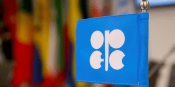 FILE PHOTO: The logo of the Organization of the Petroleum Exporting Countries (OPEC) is seen inside their headquarters in Vienna, Austria December 7, 2018. REUTERS/Leonhard Foeger/File Photo