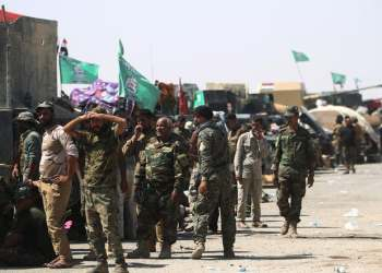 The head of Iraq's Hashed al-Shaabi paramilitary force has retracted his deputy's accusation that the United States was behind a string of recent explosions at the group's bases. (File photo: AFP)