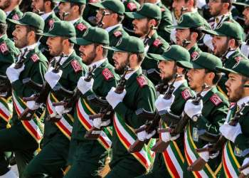 The presence of America and Britain in the region means insecurity, says Iran's Revolutionary Guards Corps navy chief. (File photo: AFP)
