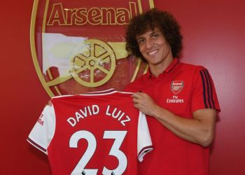David Luiz was a Deadline Day signing for Arsenal
