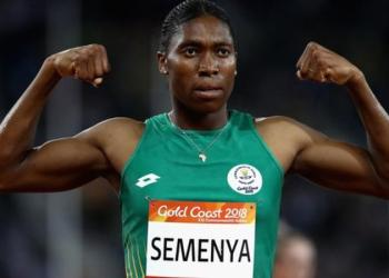 Caster Semenya won her first Olympic gold at London 2012