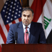 FILE PHOTO: Iraq's Minister of Electricity Luay Al Khateeb speaks speaks during a press conference in Baghdad, Iraq December 11, 2018. Hadi Mizban/Pool via REUTERS/File Photo